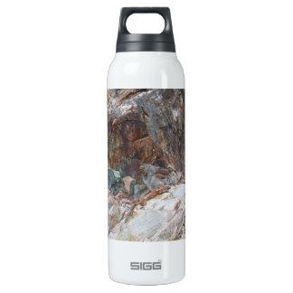 La botella de agua de aluminio rocosa, BPA libera