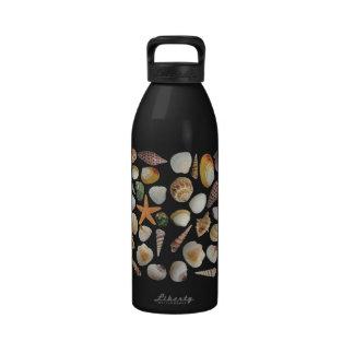 La botella de agua grande del colector de Shell