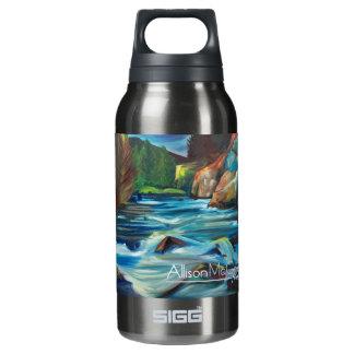 La botella de agua poderosa de la galatina