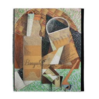 La botella de Banyuls, 1914 (aguazo y collage)