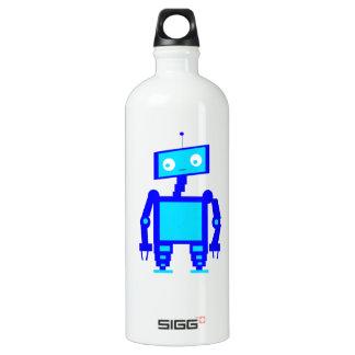 La botella de la libertad del robot funciona el