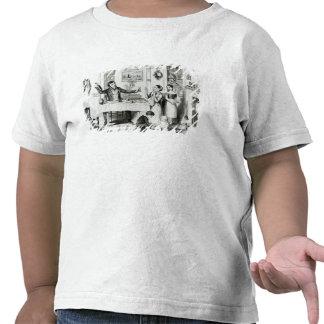 La botella, placa I Camisetas