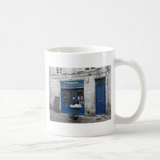 La Bouquiniste Classic White Coffee Mug