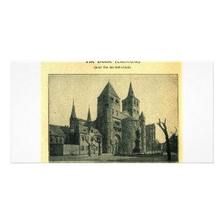 La bóveda (catedral) en el Trier (Treve), Alemania Tarjeta Personal