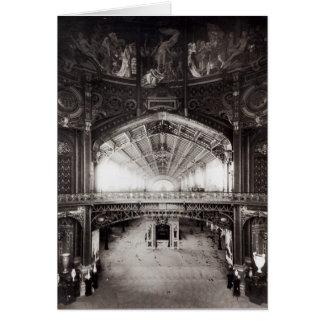 La bóveda central tarjeta de felicitación