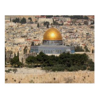 La bóveda de la roca, Jerusalén 1 Postal