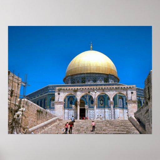 La bóveda de la roca, Jerusalén 4 Póster