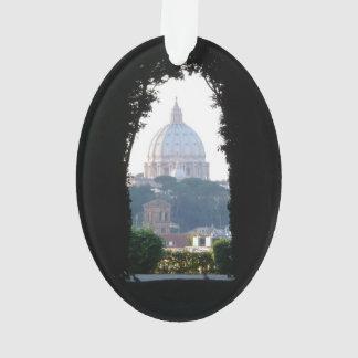 La bóveda de San Pedro, opinión del ojo de la cerr