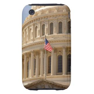 la bóveda del edificio del capitolio de Estados iPhone 3 Tough Fundas