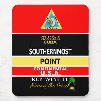 La boya más situada más al sur Key West del punto Alfombrilla De Ratones
