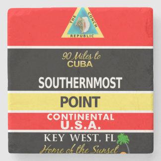 La boya más situada más al sur Key West del punto Posavasos De Piedra