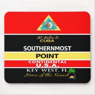 La boya más situada más al sur Key West del punto Alfombrilla De Raton