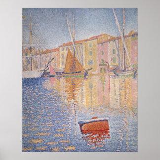 La boya roja, santo Tropez, 1895 Impresiones