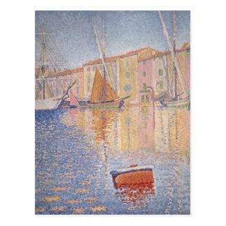 La boya roja, santo Tropez, 1895 Tarjetas Postales