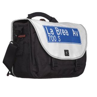 La Brea Avenue, Los Angeles, CA Street Sign Commuter Bags