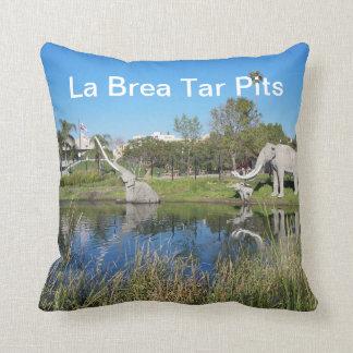 La Brea Tar Pits American MoJo Pillows