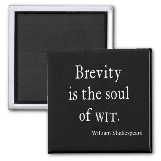 La brevedad de la cita de Shakespeare es el alma d