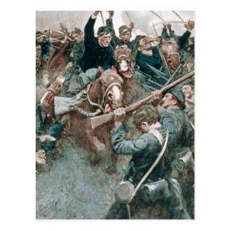 La brigada de Jackson que se coloca como una pared Tarjetas Postales