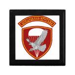 La brigada especial es una unidad de la élite de S Cajas De Recuerdo