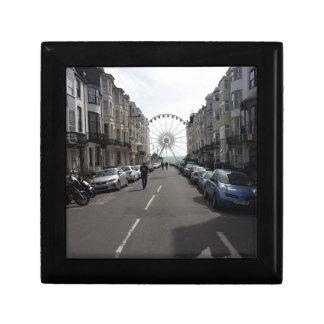 La Brighton rueda adentro Brighton, Reino Unido Joyero Cuadrado Pequeño