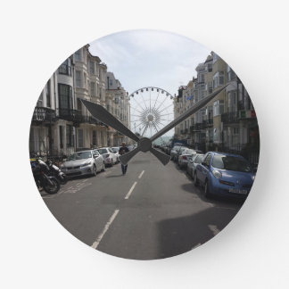 La Brighton rueda adentro Brighton, Reino Unido Reloj Redondo Mediano