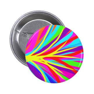 La brocha colorida viva frota ligeramente arte fem pin