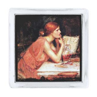 La bruja Circe con el libro de la poción Insignia Plateada