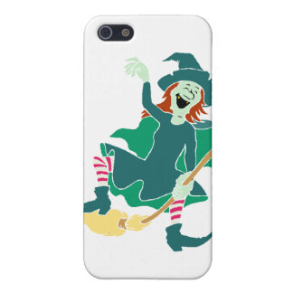 La bruja de risa iPhone 5 cárcasas