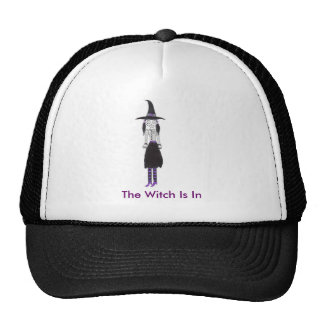 La bruja está adentro gorras