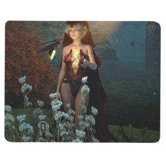 La bruja habla con su luciérnaga en la noche cuadernos grapados