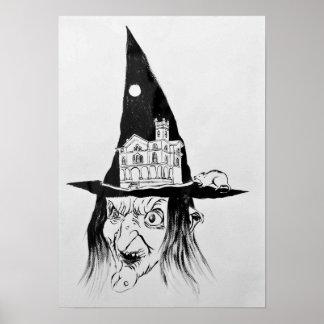 """La bruja "" Póster"
