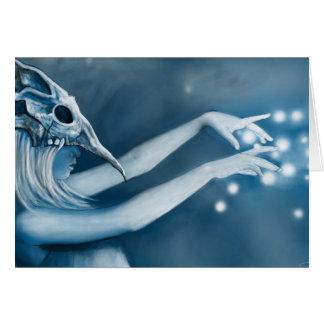 La bruja tarjeta de felicitación