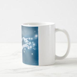La bruja taza básica blanca
