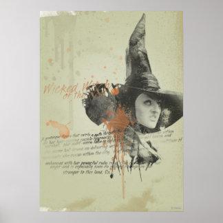 La bruja traviesa de los 5 del oeste póster