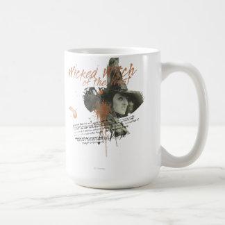 La bruja traviesa de los 5 del oeste tazas de café