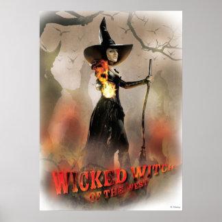 La bruja traviesa de los 6 del oeste póster