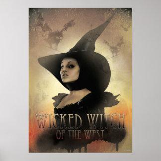 La bruja traviesa del 1 del oeste póster