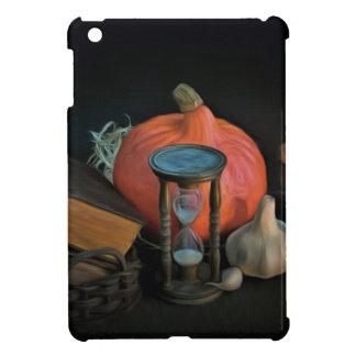 La brujería se opone en una tabla en un cuarto