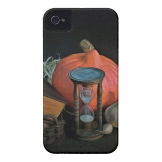 La brujería se opone en una tabla en un cuarto funda para iPhone 4