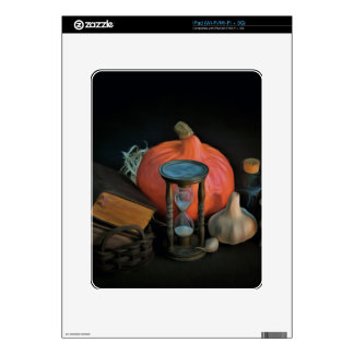 La brujería se opone en una tabla en un cuarto iPad skins