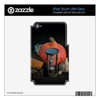 La brujería se opone en una tabla en un cuarto iPod touch 4G calcomanía