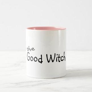 La buena bruja taza dos tonos