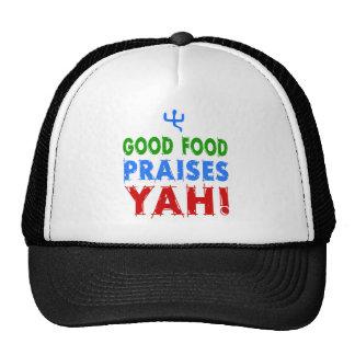 ¡La buena comida elogia Yah! Gorro
