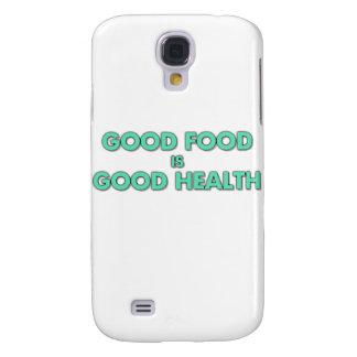 La buena comida es buena salud funda para galaxy s4