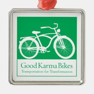 La buena karma Bikes el ornamento Ornamentos De Navidad