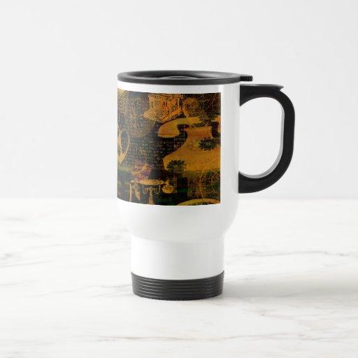 La buena taza vieja del viaje de los días
