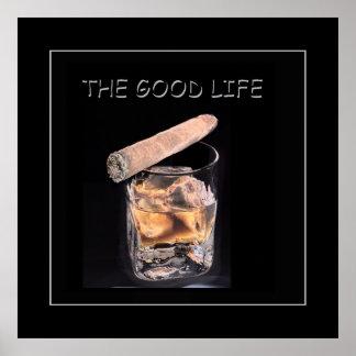 la buena vida póster