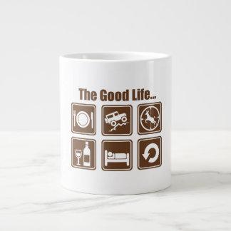 La buena vida taza grande