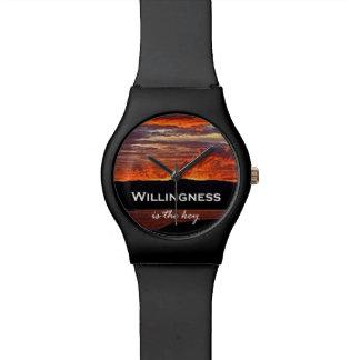 La buena voluntad es la llave relojes de pulsera