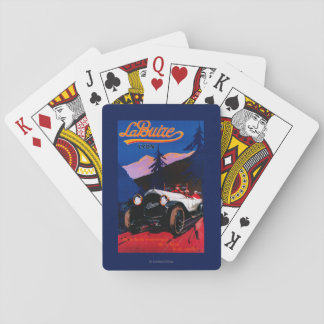 La Buize Lyon Vintage PosterEurope Playing Cards